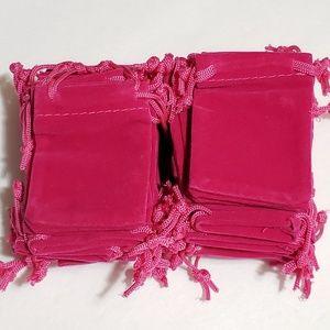 Boutique Bags - 20pcs Velvet Gift Bags Wedding Christmas Favor